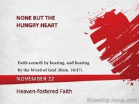 Heaven-fostered Faith